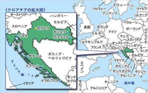 map_croachia
