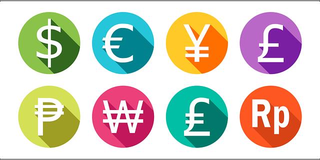 バイナリーオプションの通貨ペア