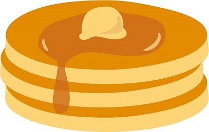 大阪のイチゴパンケーキ