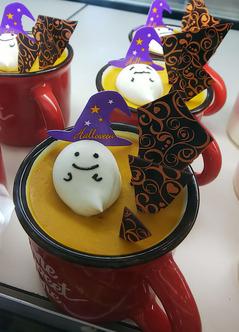 秋の限定ケーキ★かぼちゃのプリン