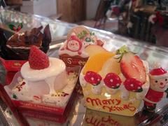 クリスマス限定ケーキたち