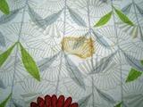 小紋 黄変の染み抜きと柄の染色補正