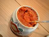 自家製ゆず胡椒、塩辛いので注意