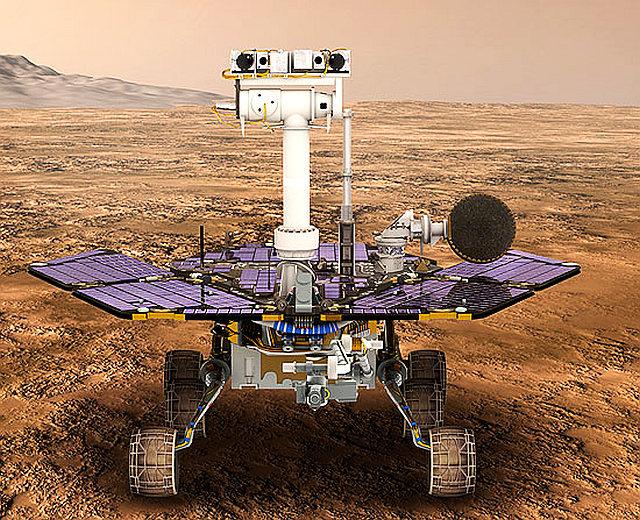火星探査で15年活動したオポチュ...