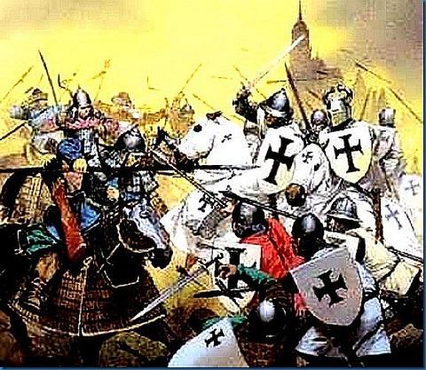 Crusader vs Muslim battle_thumb[1]