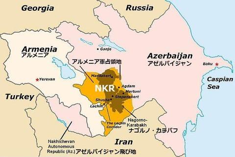 ナゴルノ・カラバフ紛争の死者5000人に迫るとロシア発表