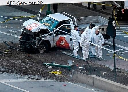 ニューヨークで車暴