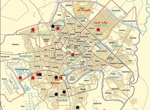 Baghdad Crisis Map-01