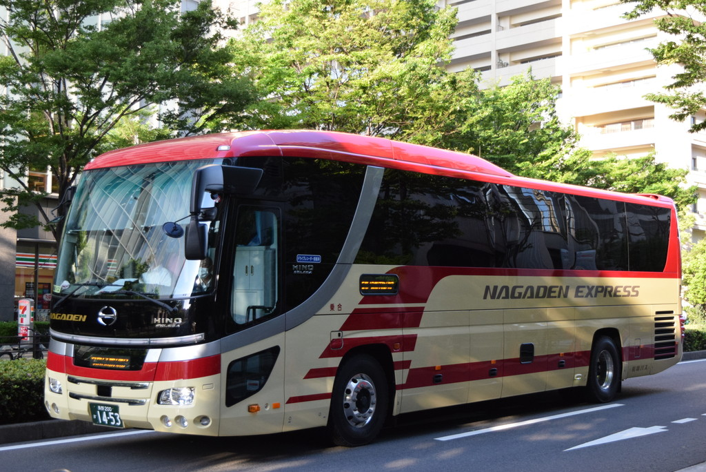奈良交通とバス撮影記 : 2015年度長電バスの高速新車 長野200か14-53