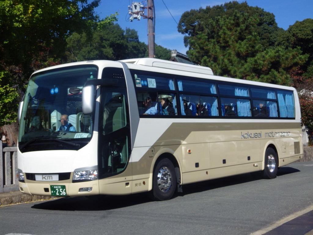 奈良交通とバス撮影記 : km観光 230あ・256
