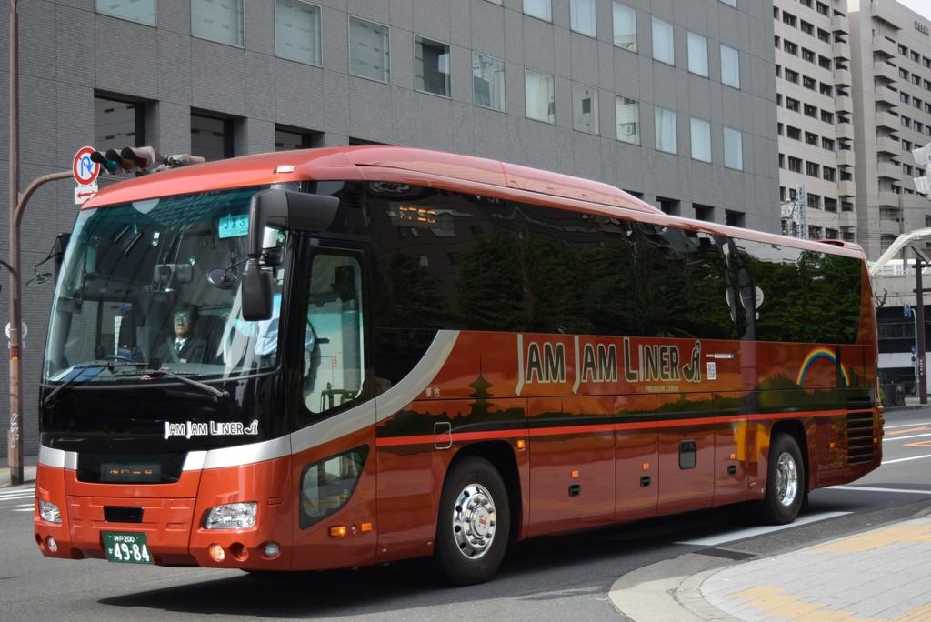 ジャムジャムエクスプレス関西 神戸200か49-84 : 奈良交通とバス撮影記