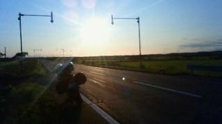 夕日ロード