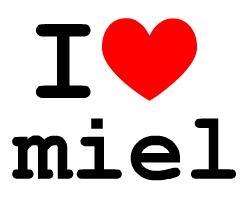 I LOVE miel