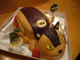 ネコバスケーキ