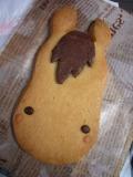 馬のクッキー