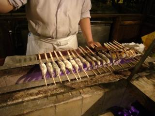 岩魚の焼き物