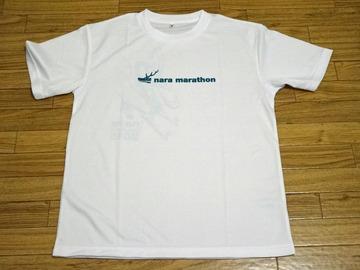 奈良マラソン2015 Tシャツ おもて