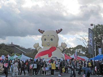 奈良マラソン2017 受付-2