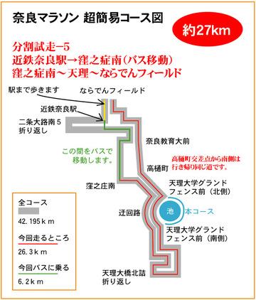 分割試走-5 27km