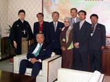 日本大使館表敬訪問