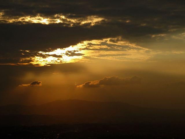 若草山から見た空5