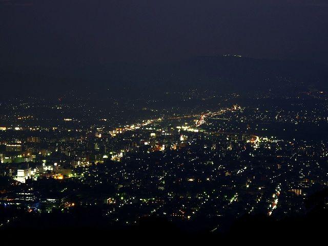 若草山からの夜景2