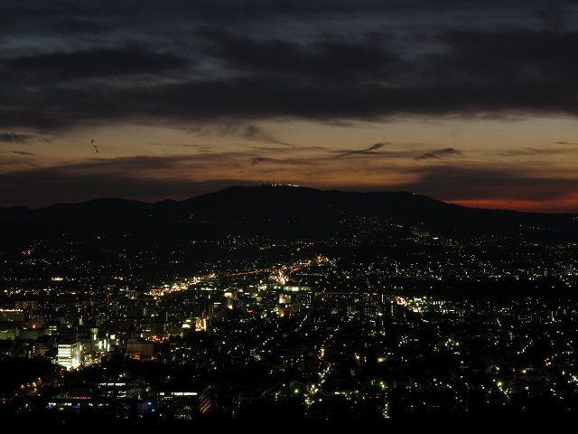 若草山からの夜景5