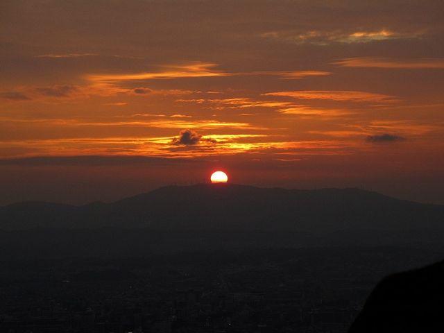 若草山から見た空6
