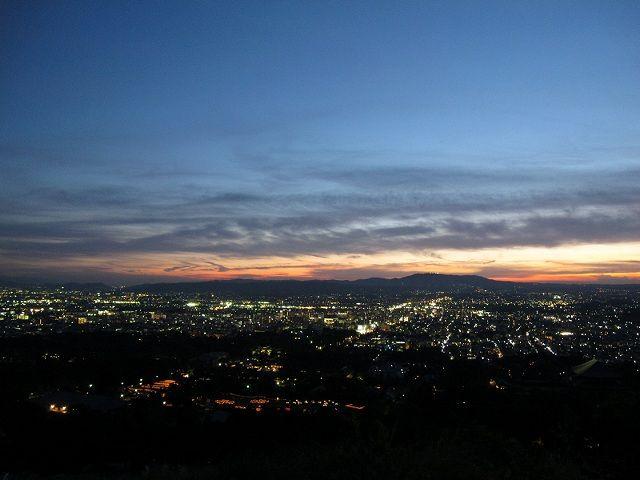 若草山からの夜景4