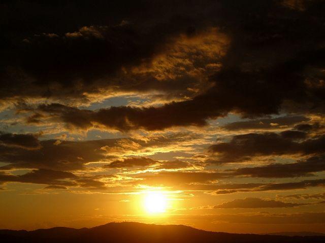 若草山から見た空3