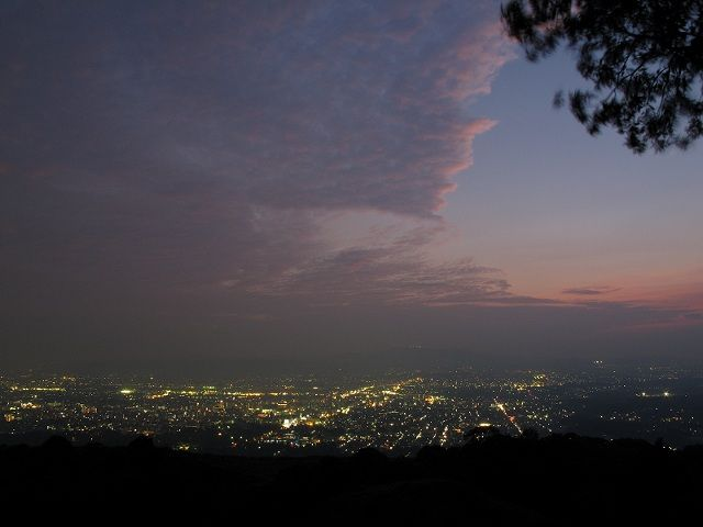 若草山からの夜景1