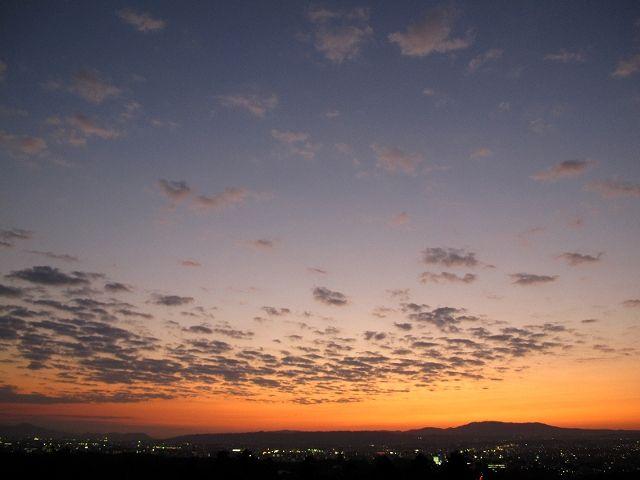 若草山から見た空12