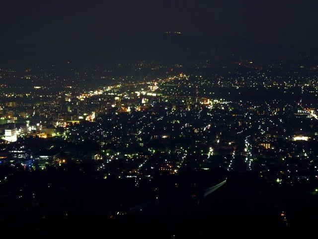 若草山からの夜景3