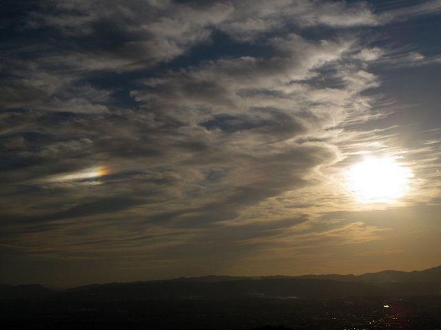 若草山から見た空8