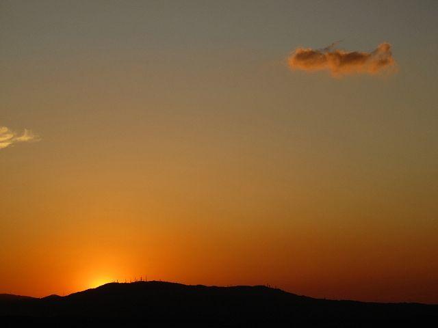 若草山から見た空9