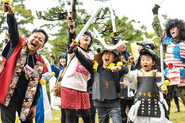 高取城チャンバラ合戦