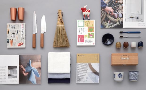 本と雑貨の売り場イメージ