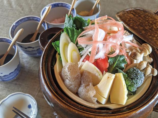 農悠舎-野菜鍋