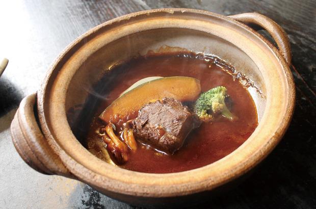 野菜の風呂ビーフシチュー