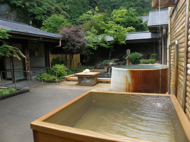ホテル昴-桧風呂