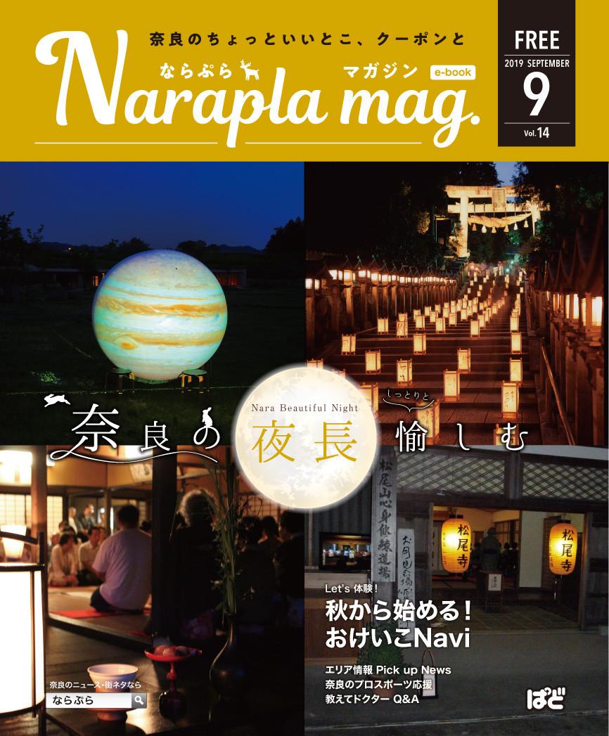 ならぷらマガジン14号表紙
