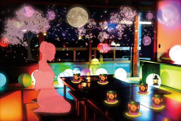 幻桜の夜②