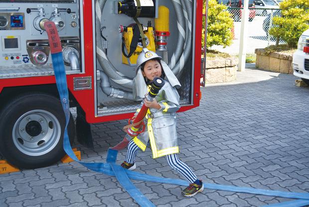 ぼくもわたしも消防隊員!
