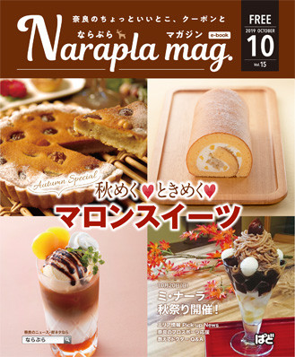 ならぷらマガジン15号表紙