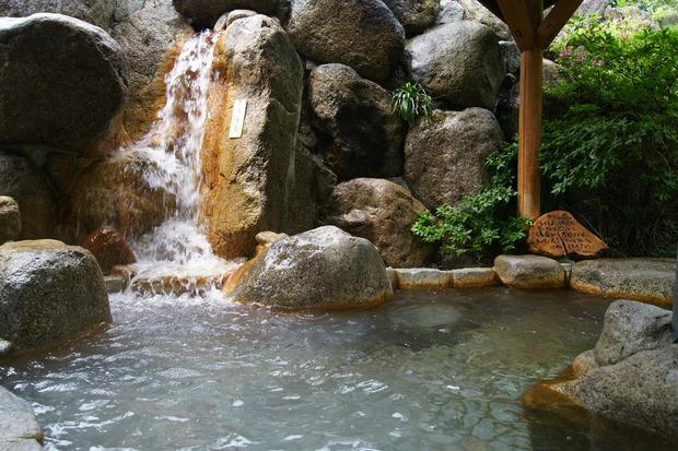 槙の湯  露天風呂