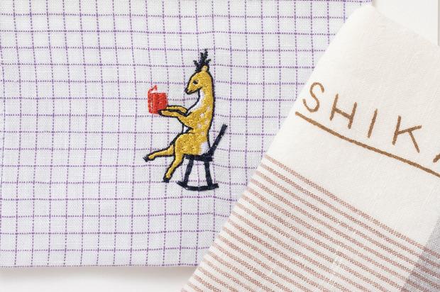 同店限定_鹿の刺繍