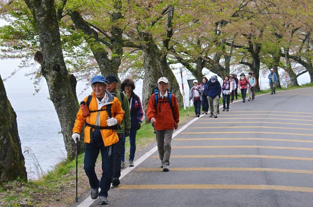 大浦集落を目指し、葉桜、姥桜街道を歩きます。 大浦集落に着...  livedoor Blog(
