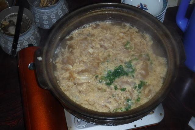 13. たっぷりと出汁のきいた雑炊の出来上がり