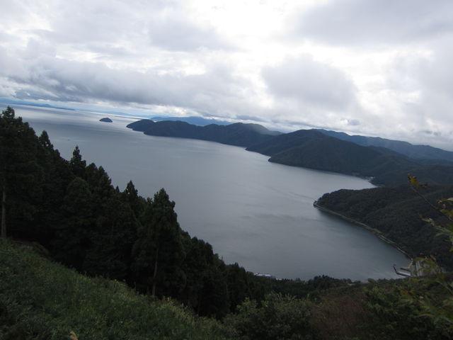 9.琵琶湖遠望