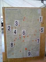 醸造所の地図